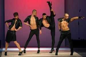 Казаки сорвали концерт «извращенцев» Kazaky