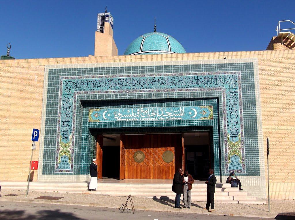 Мечеть Лиссабона осквернена, имам призвал не поддаваться на провокацию