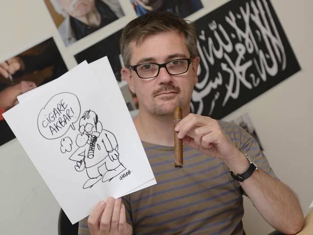 Главред Charlie Hebdo Стефан Шарбонье стал одной из жертв теракта