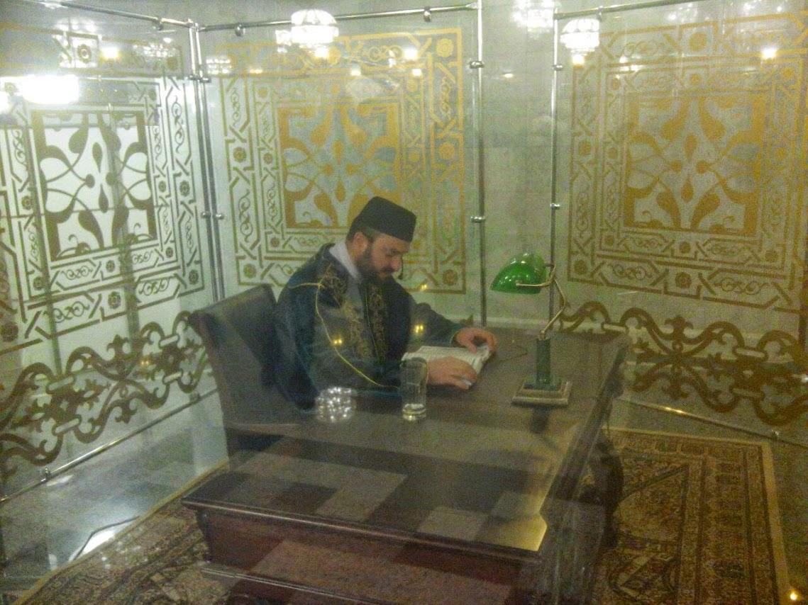 В Кул-Шарифе круглосуточно читается Священный Коран