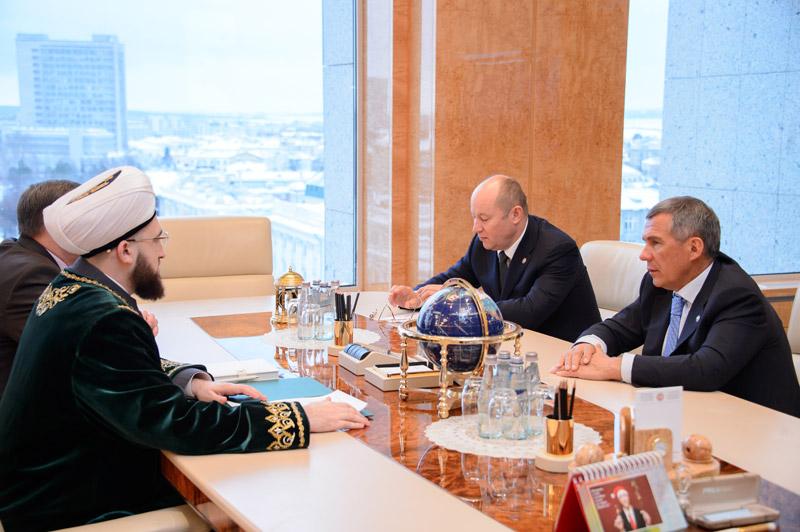 Власти Татарстана довольны работой муфтия Камиля Самигуллина