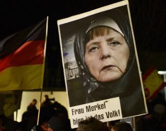 Ангела Меркель поддержала мусульман на ралли в Берлине