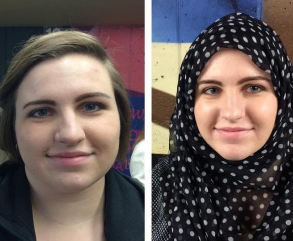 Один день в хиджабе для студенток разных конфессий