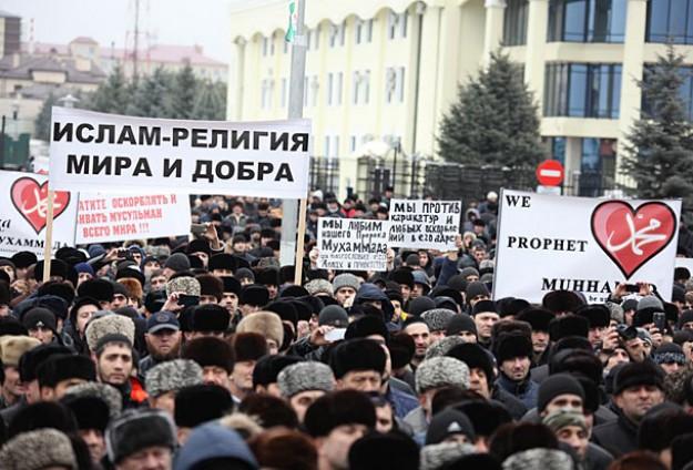 Российские республики выступают против оскорбления ислама