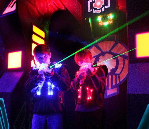 Что такое лазертаг, lasertag, лазерный пейнтбол