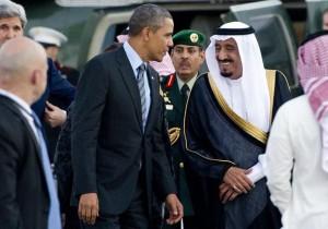 Саудовский король прервал встречу с президентом США для совершения намаза