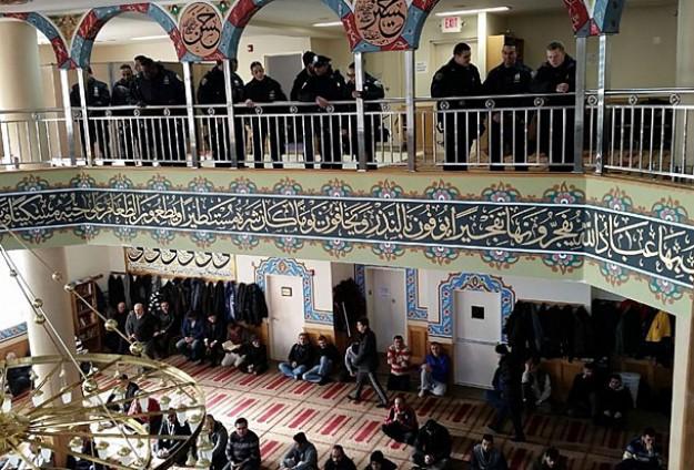 Полиция Нью-Йорка осталась довольна посещением мечети