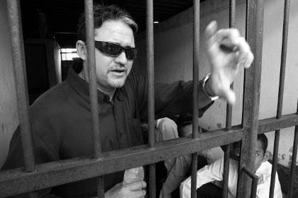 Наркоделец Марку Арчир Кардозу Морейра во время судебного процесса в 2004 году Фото: Reuters