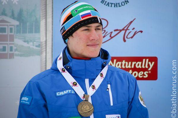 Биатлонист Латыпов стал чемпионом Европы среди юниоров