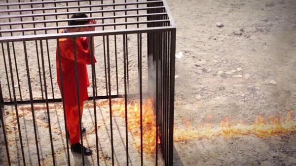 Боевики «Исламского государства» заживо сожгли иорданского летчика