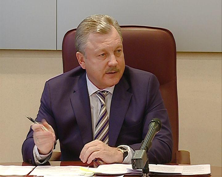 Мэр Сергей Серебрянников