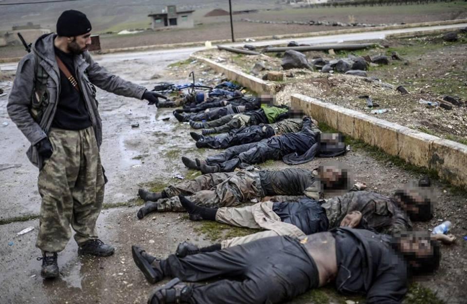 """Потери """"Исламского государства"""". Фоторепортаж не для слабонервных"""