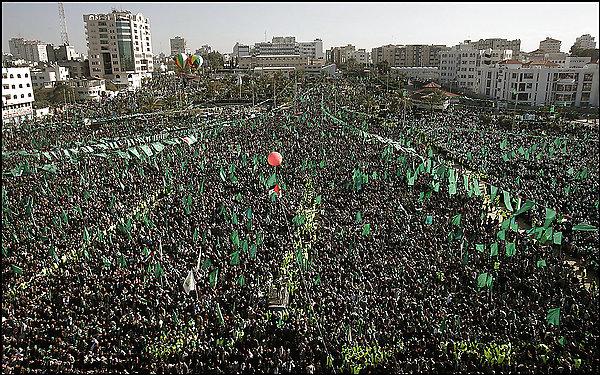 Демонстрация ХАМАС в Секторе Газа