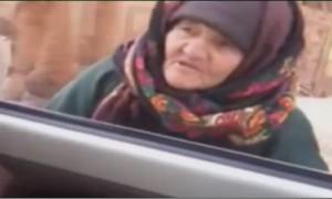 """Боевики """"Исламского государства"""" смеются над  наставлениями пожилой сирийки. Видео"""