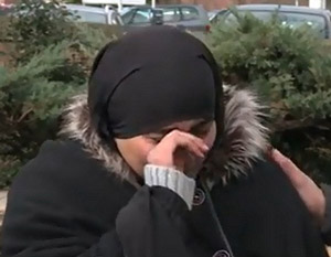 Пострадавшая мусульманка