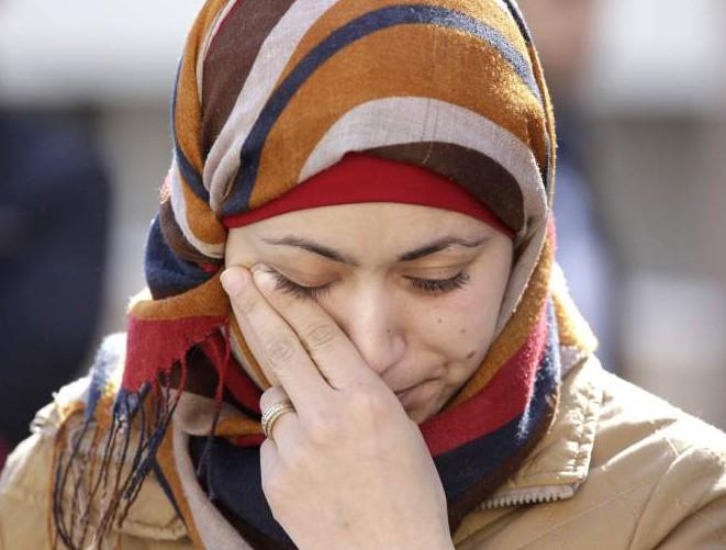 Королевская чета Иордании навестила вдову летчика аль-Касасби (ФОТО)
