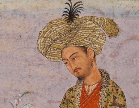 Изображение поэта и полководца Бабура