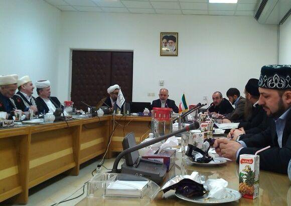 На встрече с руководством университета «Мустафа»
