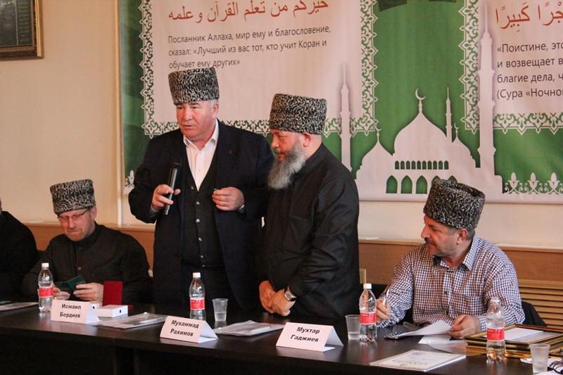 Исмаил Бердиев  высоко оценил деятельность главы Ставропольского муфтията Мухаммада Рахимова