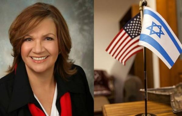 Женщина-депутат оскандалилась, принеся флаг Израиля на встречу с мусульманами