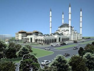 Дизайн-проект Соборной мечети в Симферополе