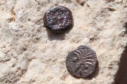 В Палестине обнаружен самый большой в истории страны клад монет