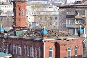 Реставрация исторической мечети в Чите