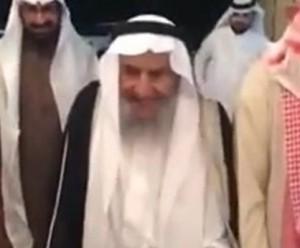 100-летний саудовец отпраздновал свою свадьбу