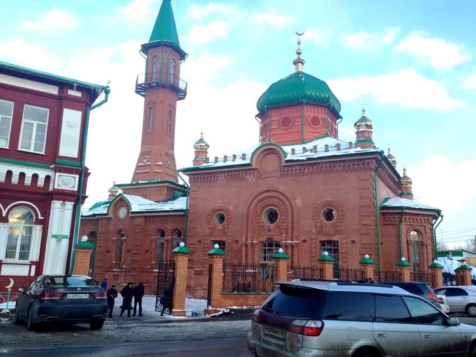 Красную мечеть восстановили в первозданном виде