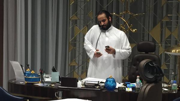 Глава вооруженных сил Саудовской Аравии принц Мухаммад бен Салман