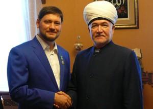 Муфтий Гайнутдин направил своего первого зама в Петербург