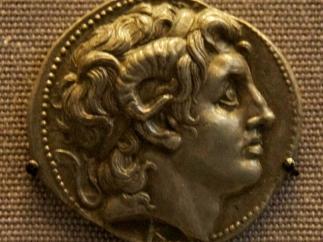 В Палестине обнаружен клад времен Александра Македонского