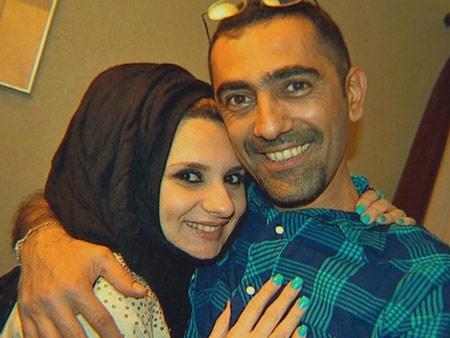 Ахмед со своей супругой