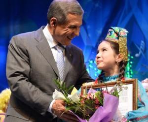 Дочь имама произвела фурор на Первом канале