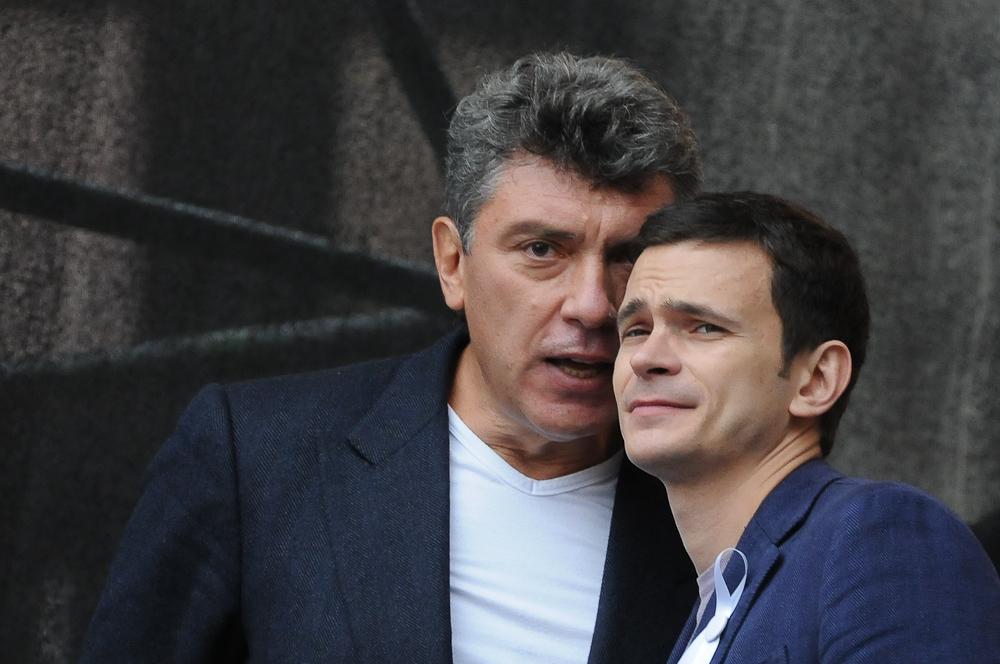 Б.Немцов и И. Яшин