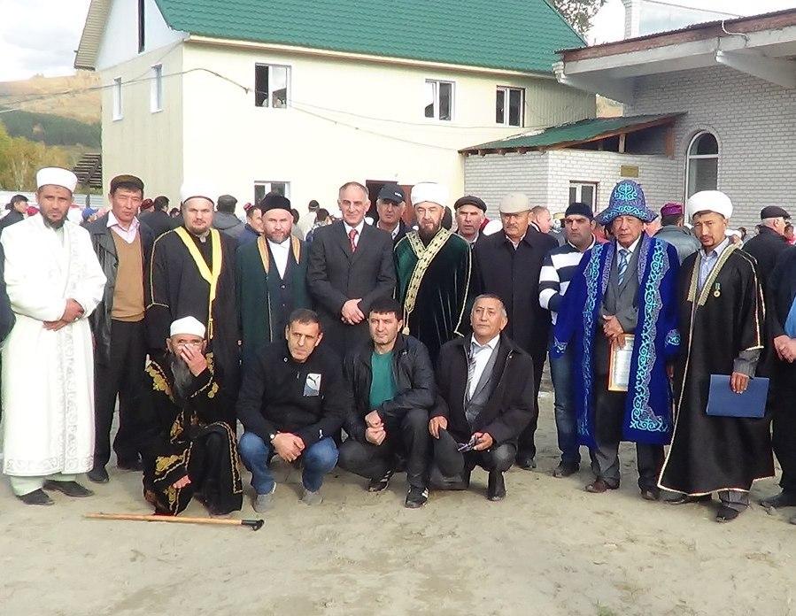 Основное мусульманское население Алтая проживает в селе Кош-Агач