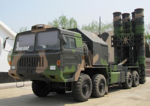 Первый китайский ЗРК, способный перехватывать баллистические ракеты
