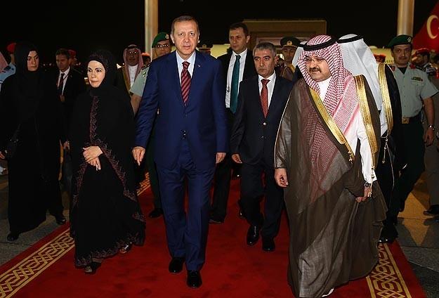 Эрдоган прибыл в Мекку