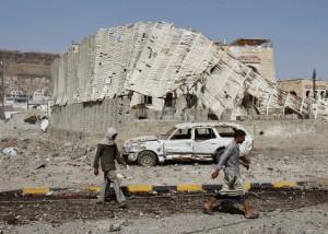 Саудовская Аравия нанесла серию прощальных ударов по Йемену