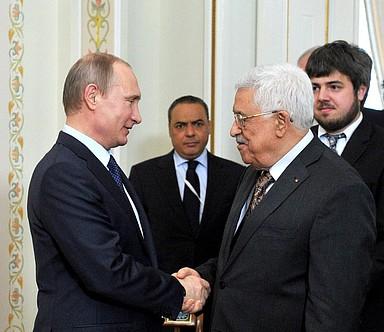 Аббас поднял на встрече с Путиным проблему израильских поселений