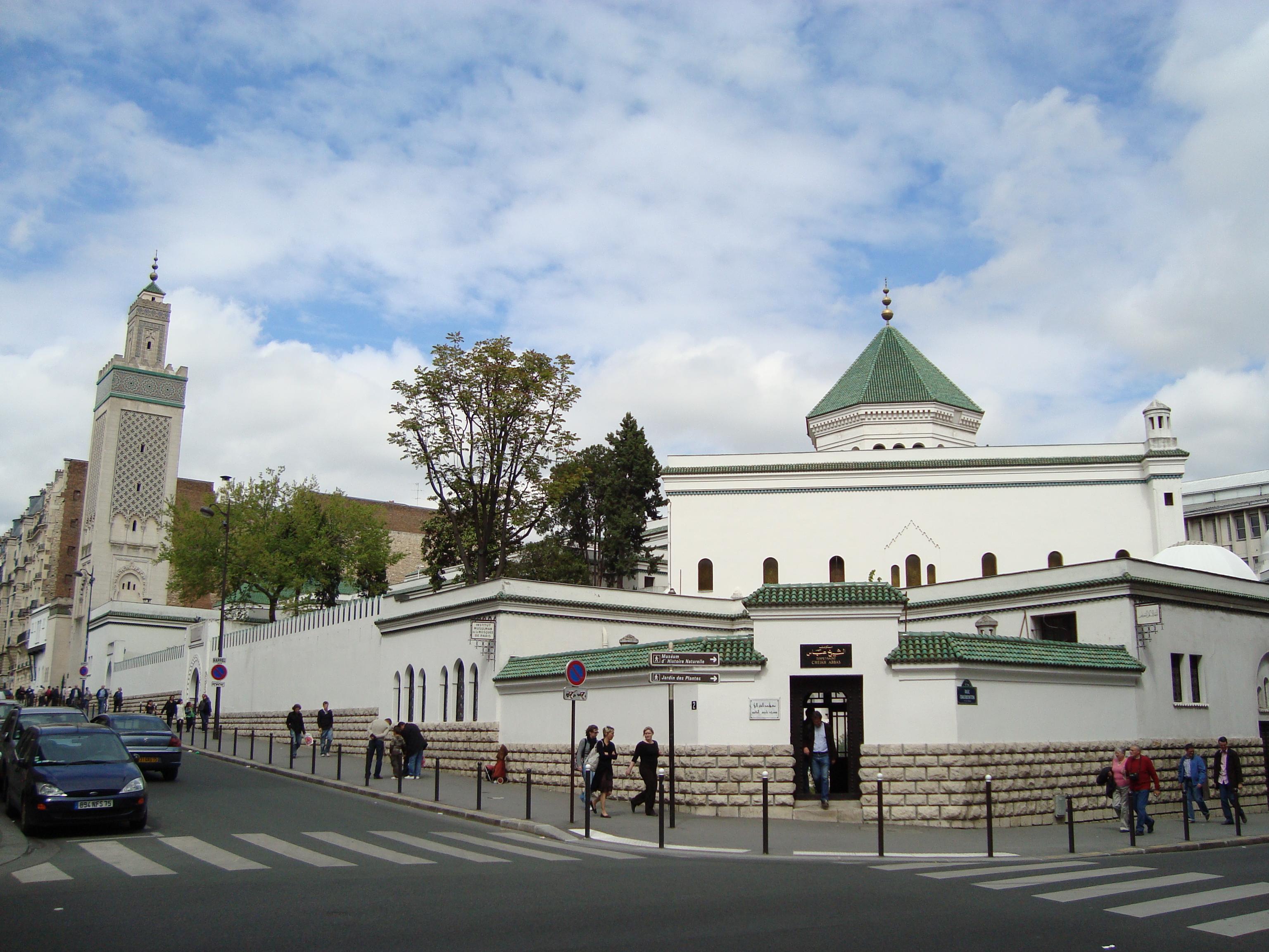 «Большая мечеть» в центре Парижа