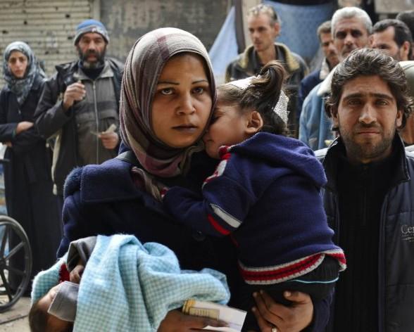 Палестинцы отбили лагерь в Дамаске у ИГИЛ