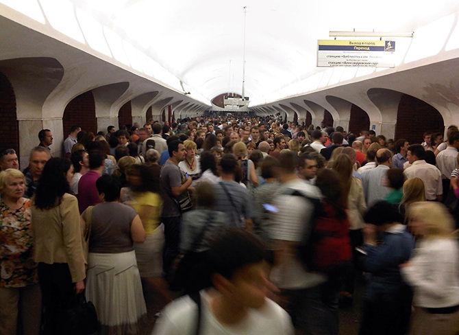 Будни в московском метро