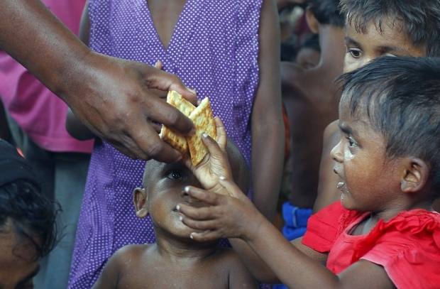 Дети рохинья