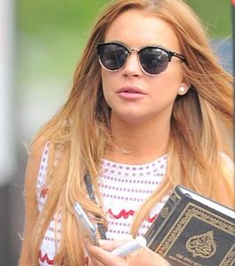 Линдси Лохан готовится принять ислам?
