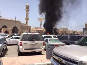 В Саудовской Аравии возле мечети прогремел взрыв, имеются жертвы (Видео)