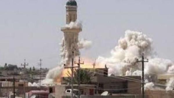 Подрыв исторической мечети «Марям хатун» на западе г. Мосула в Ираке