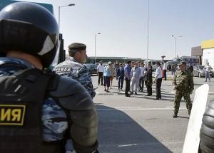 Казус произошел с крымскими татарами, участниками траурного автопробега