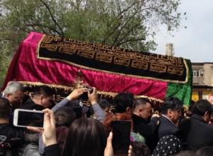 Батырхана Шукенова похоронили по всем мусульманским обычаям