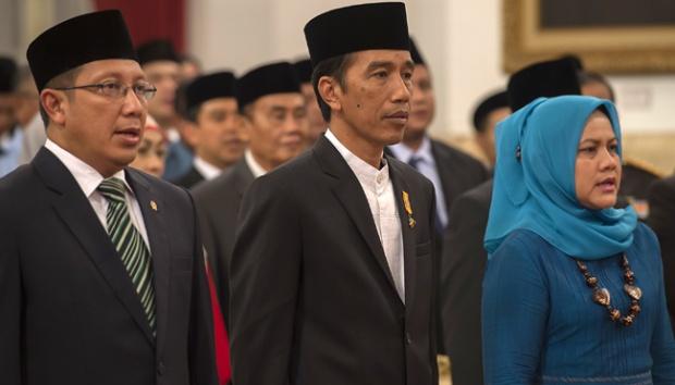 Президент Индонезии на мероприятии по случаю Исра и Мирадж